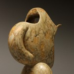 Crescent Pitcher II, back