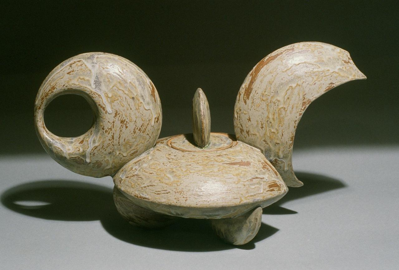 Crescent Teapot