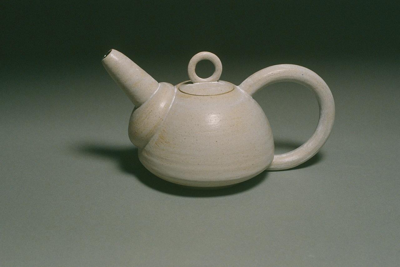 Cobalt Drip Teapot