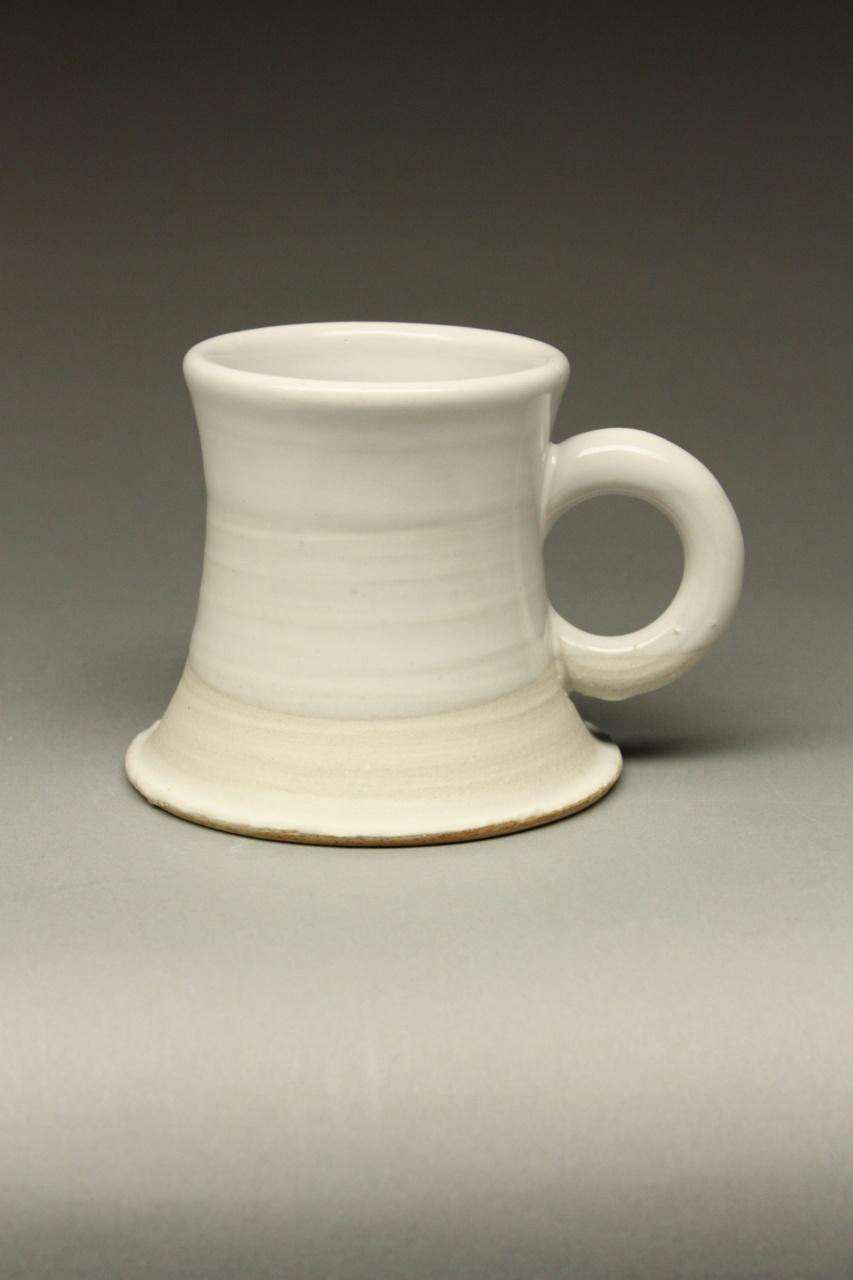 Leach/727 Matte White Montgomery Mug