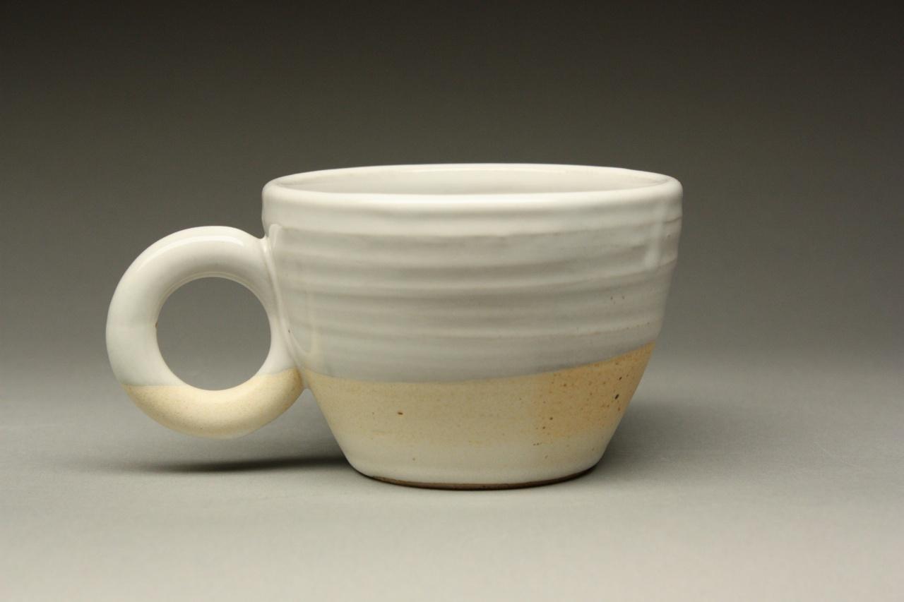 Leach White/Bamboo Tulip Mug